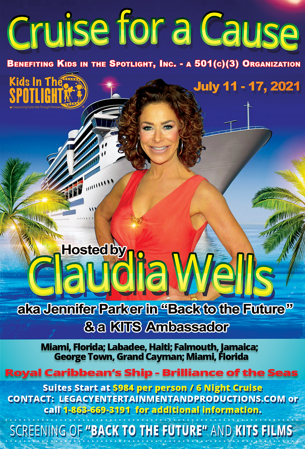 Cruise for a Cause Hosted by Claudia Wells