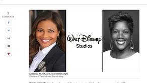 Breaking News: Walt Disney Studios Promotes Jan Coleman - KITS Board Member - to VP!
