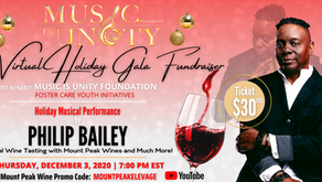 Philip Bailey's Music Is Unity Foundation Hosts Virtual Holiday Gala In Support of Foster Youth