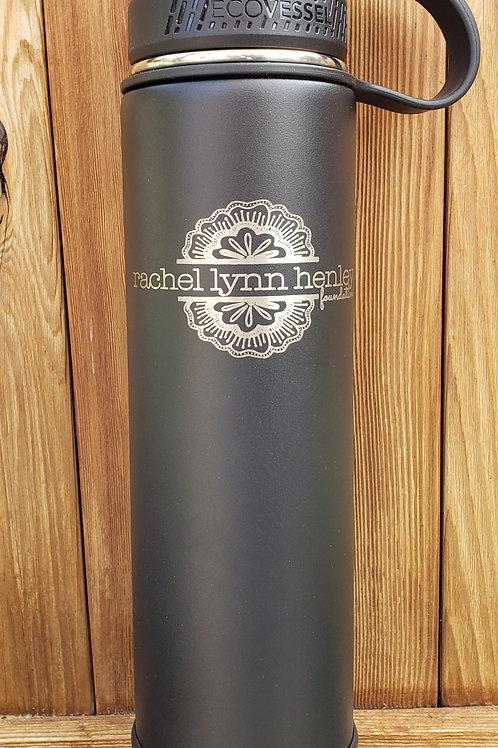 Black Ecovessel Water Bottle
