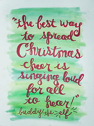 Christmas Cheer Canvas