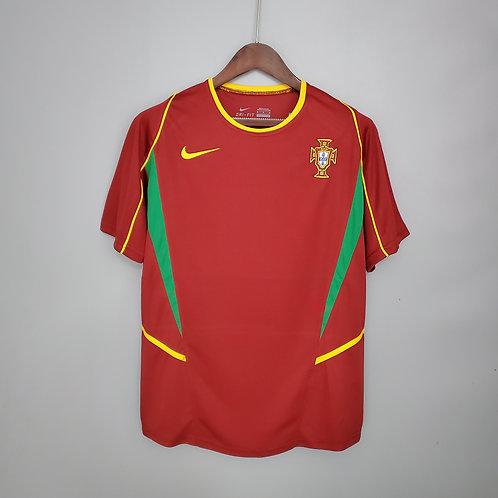 Camisa Portugal 2002