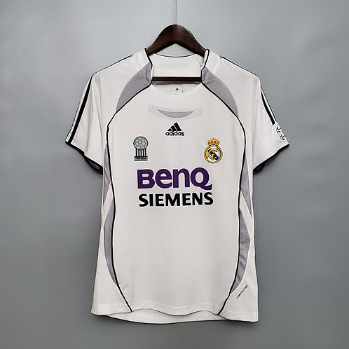 Camisa Real Madrid 2006/07