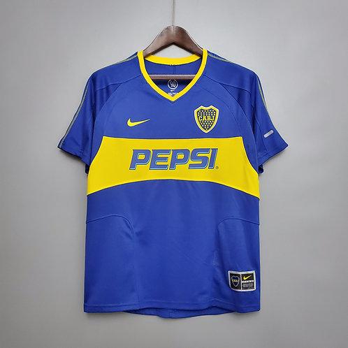 Camisa Boca Juniors 2003/04