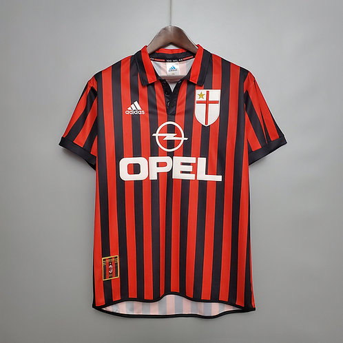 Camisa Milan 1999/00