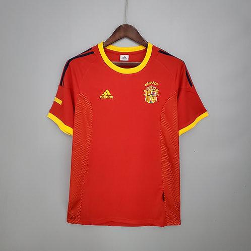 Camisa Espanha 2002