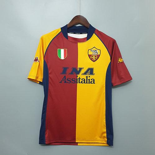 Camisa Roma 2001