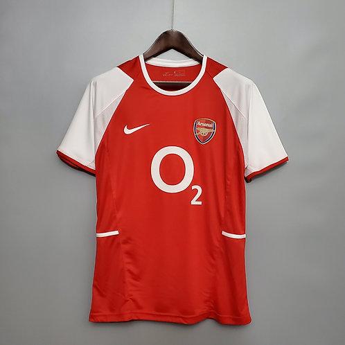 Camisa Arsenal 2002/04