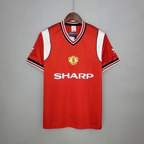 Camisa Manchester United 1985/86