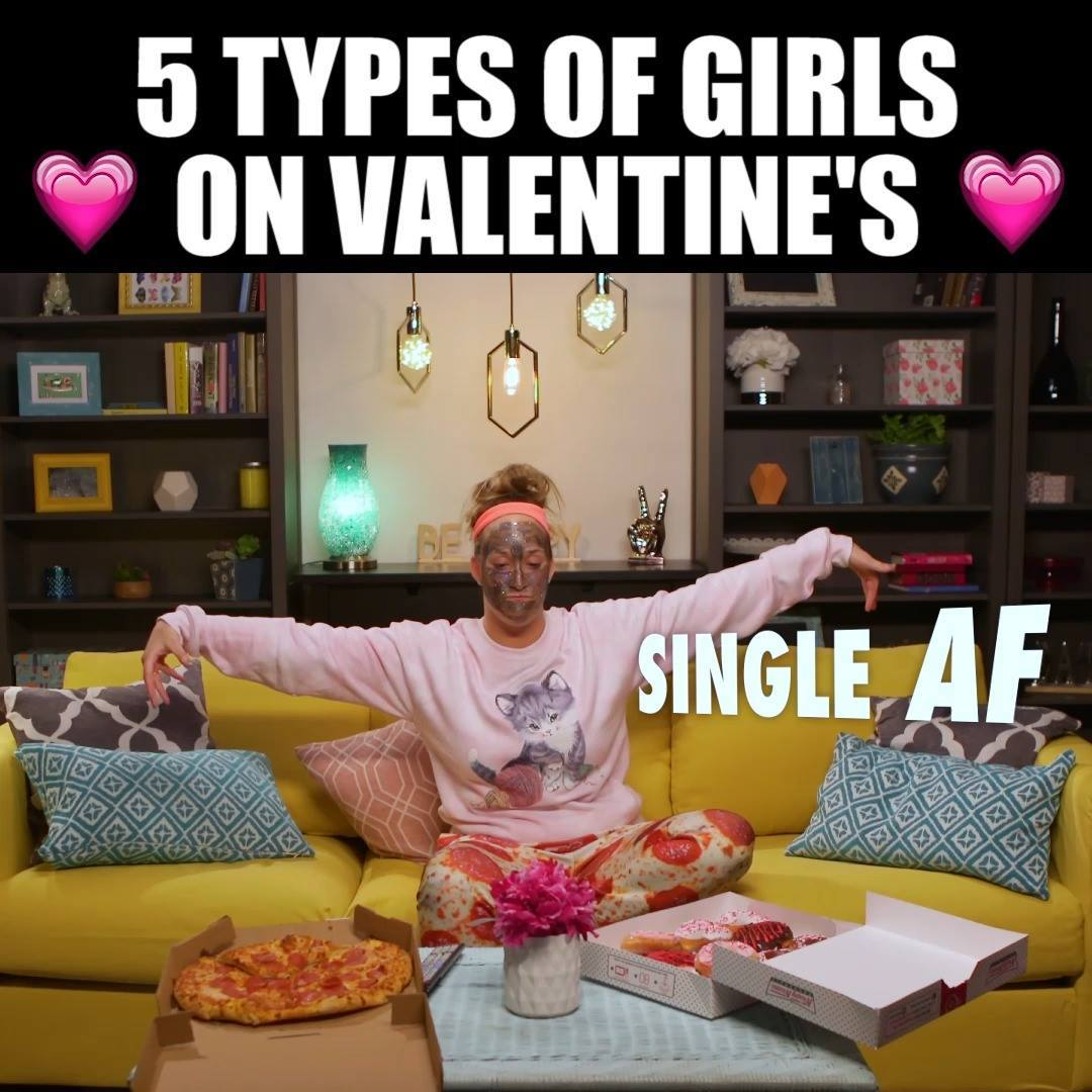 Types of Girls on Valentine's Day