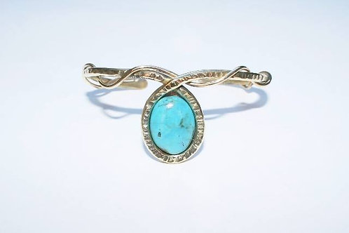 BRA 18 et sa pierre turquoise