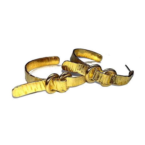 PRO Creoles boucles ceintures 2 en laiton