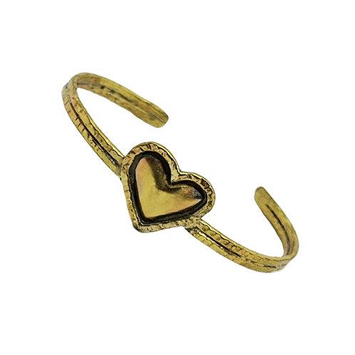 PRO Bracelet bi-color coeur