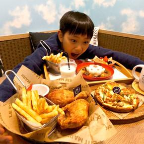 金山知名手工披薩店推出聯名限定花朵兒童餐,每日限量前10名免費送!