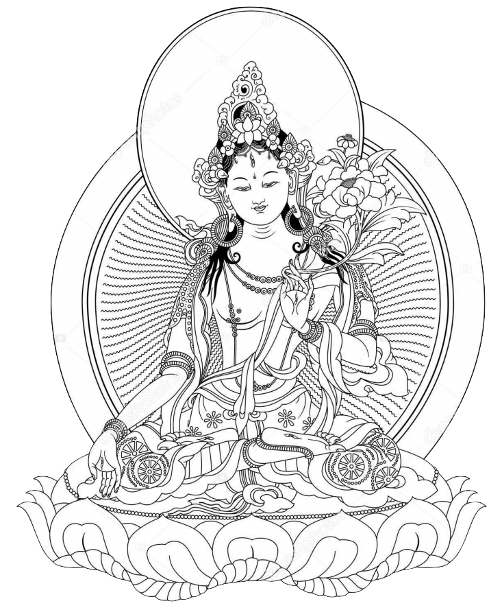 White Tara in Tibetan Buddhism