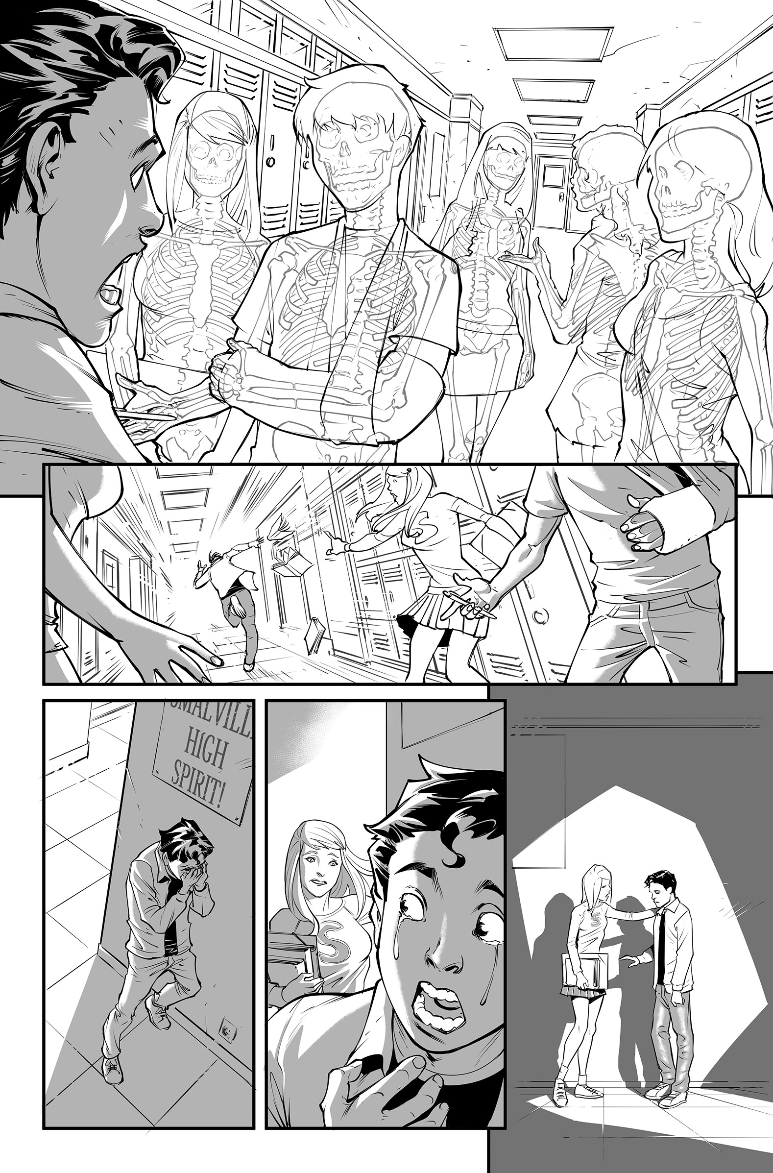 Superman Secret Origin sample page 3