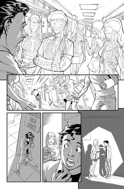 Superman Secret Origin sample page 3