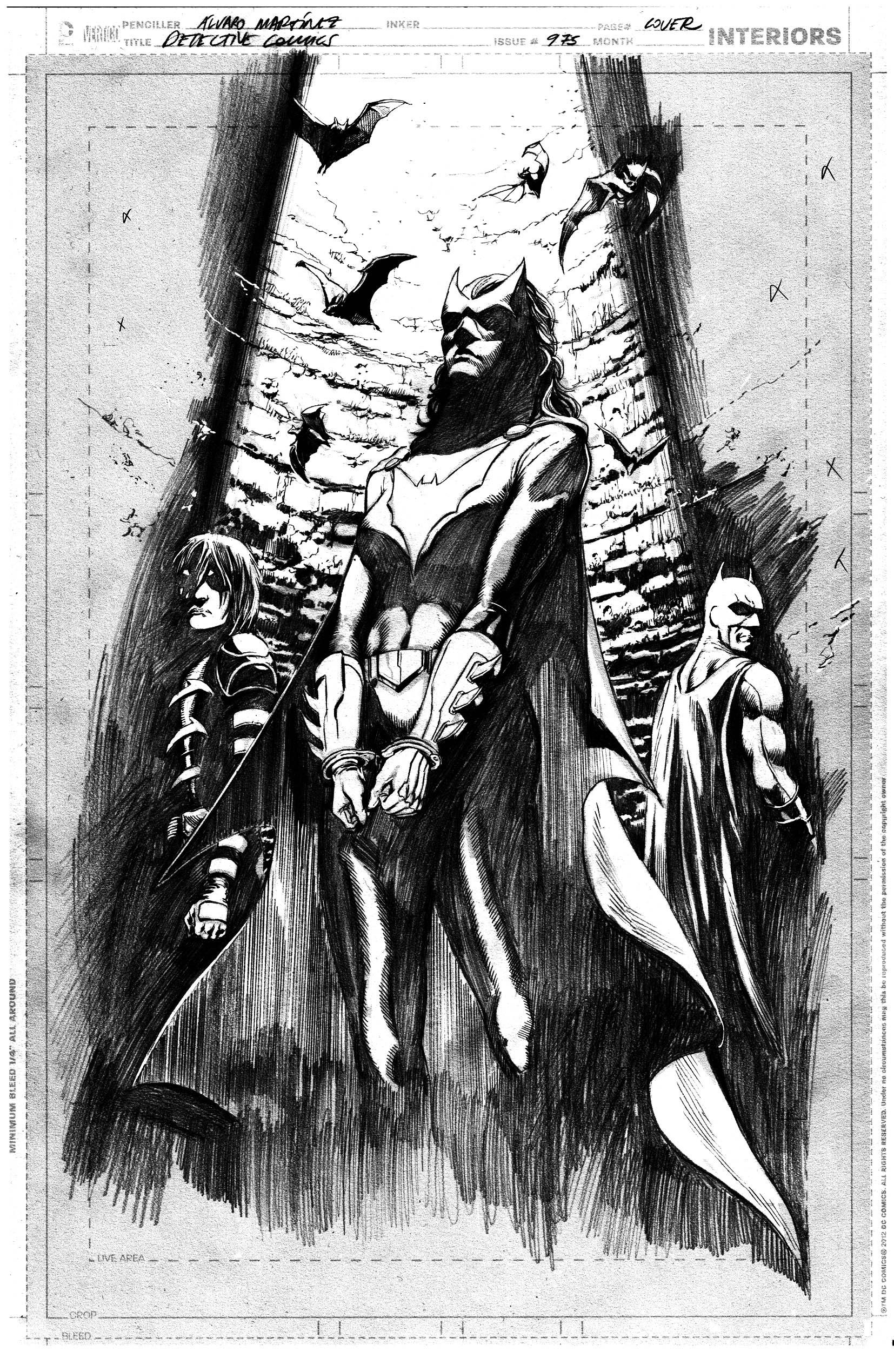 Detective Comics #975, cover