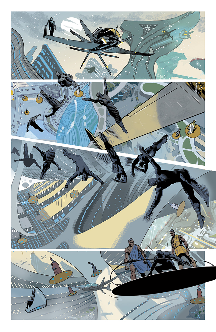 Black Panther Annual #1 page 5