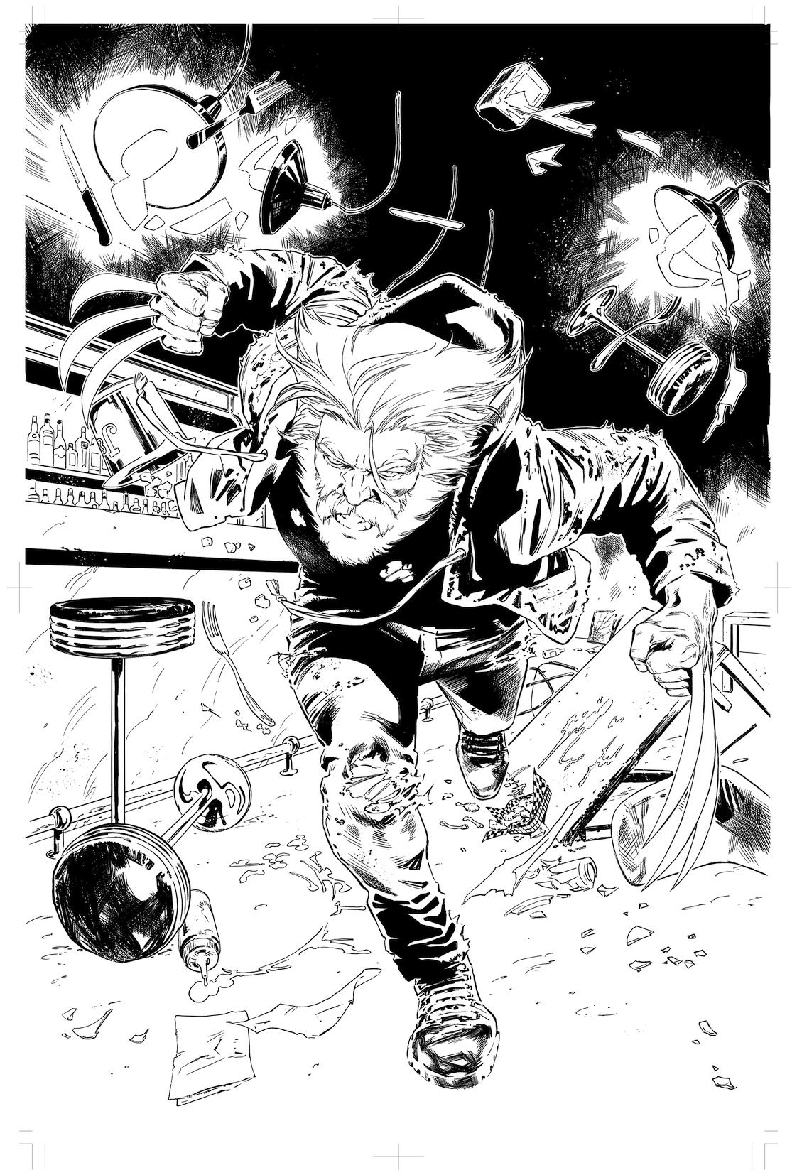 X-Men Blue #5 page 1