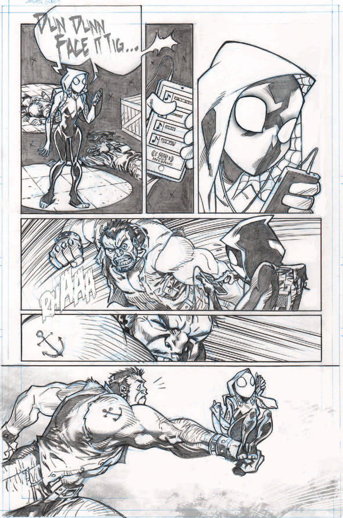 Spider-Gwen samples, page 3