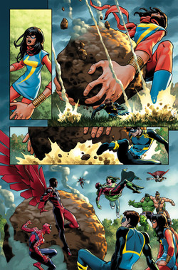 Avengers #672, page 15