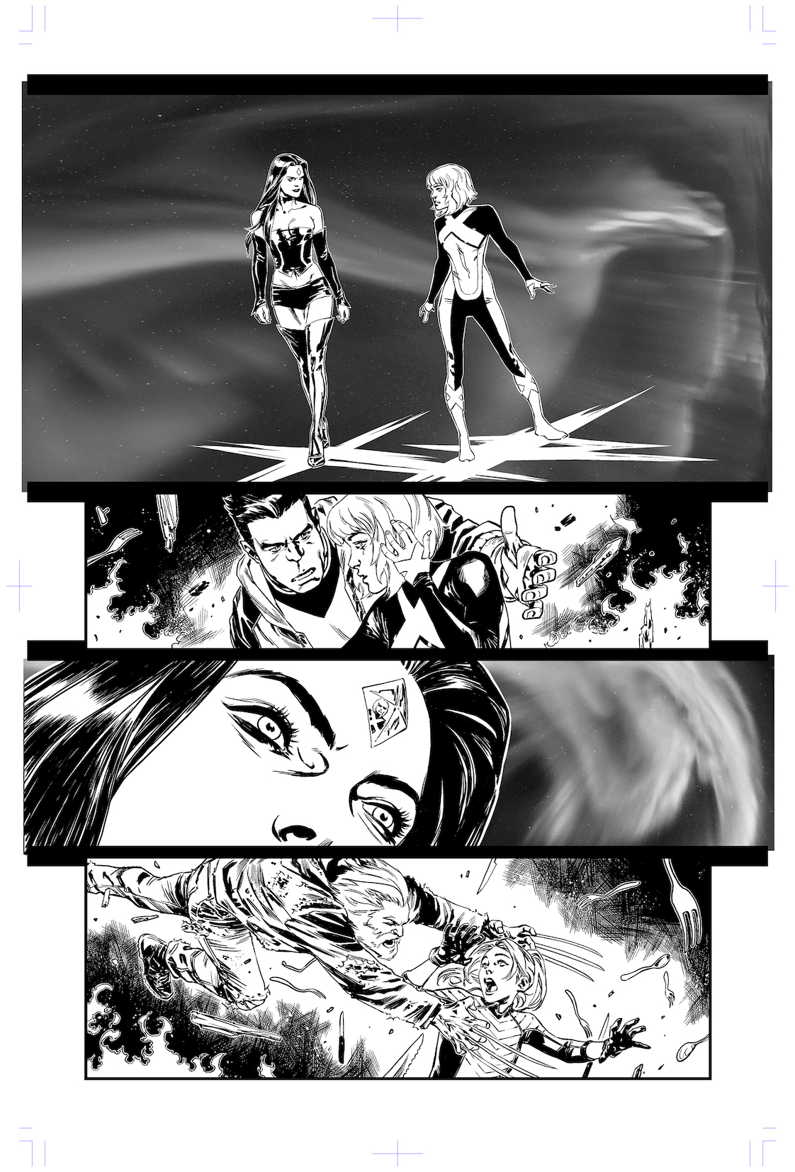X-Men Blue #5 page 8