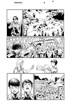 Supergirl #18 page 11