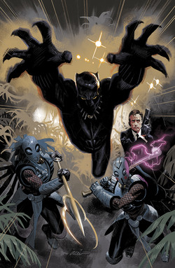 Black Panther Annual, cover