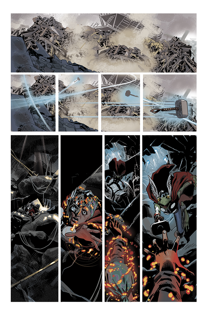 Thor #700,  page 46