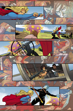 Adventures of Supergirl #13 page 5