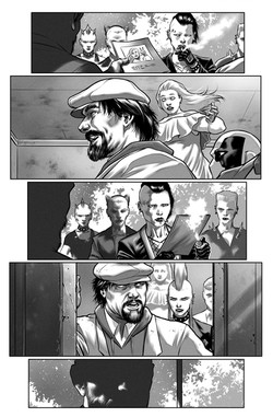 Armstrong & the vault of Spirits #1 page 5