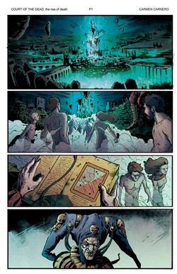 Court of the Dead Rise of Death page 1