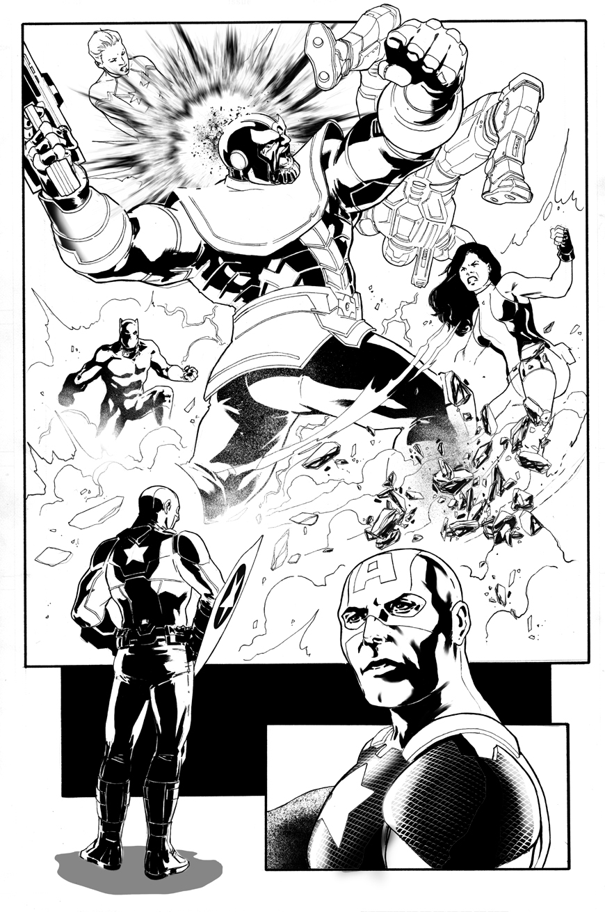Captain America - Steve Rogers #4 page 24