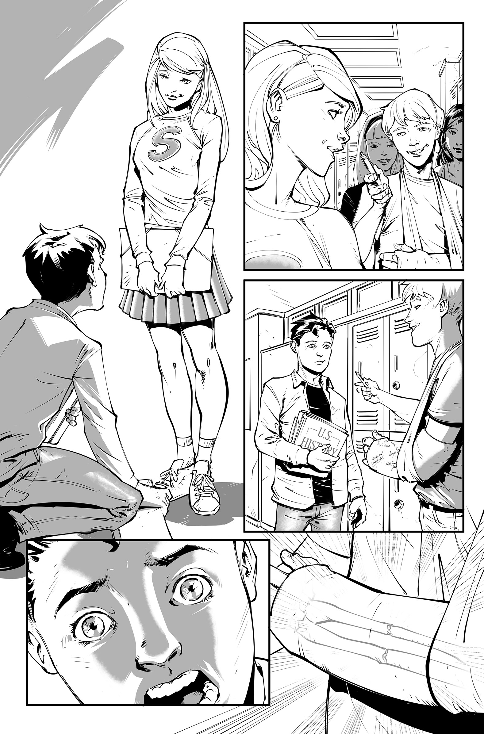 Superman Secret Origin sample page 2