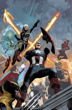 Rogue & Gambit #1 Uncanny Avengers Variant