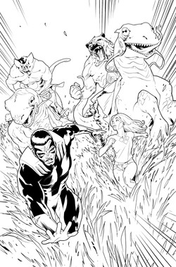 Avengers #673, page 1