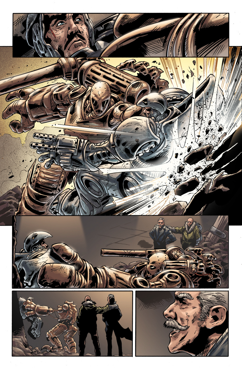 Iron Man Noir #7 page 2