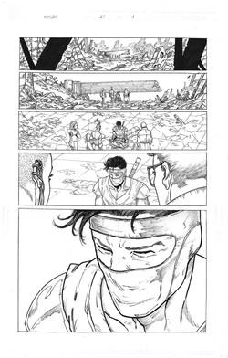Ninjak #21 page 1