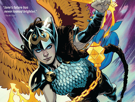 On Sale Today! Valkyrie: Jane Foster Vol. 1: The Sacred And The Profane, with art by CAFU!