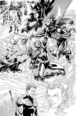 Secret Origins #2: Aquaman, page 11