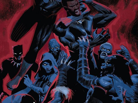 On Sale Today! Black Panther #20 with cover by Daniel Acuña!