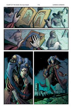 Court of the Dead Rise of Death page 9