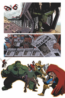 Avengers Legacy, page 1