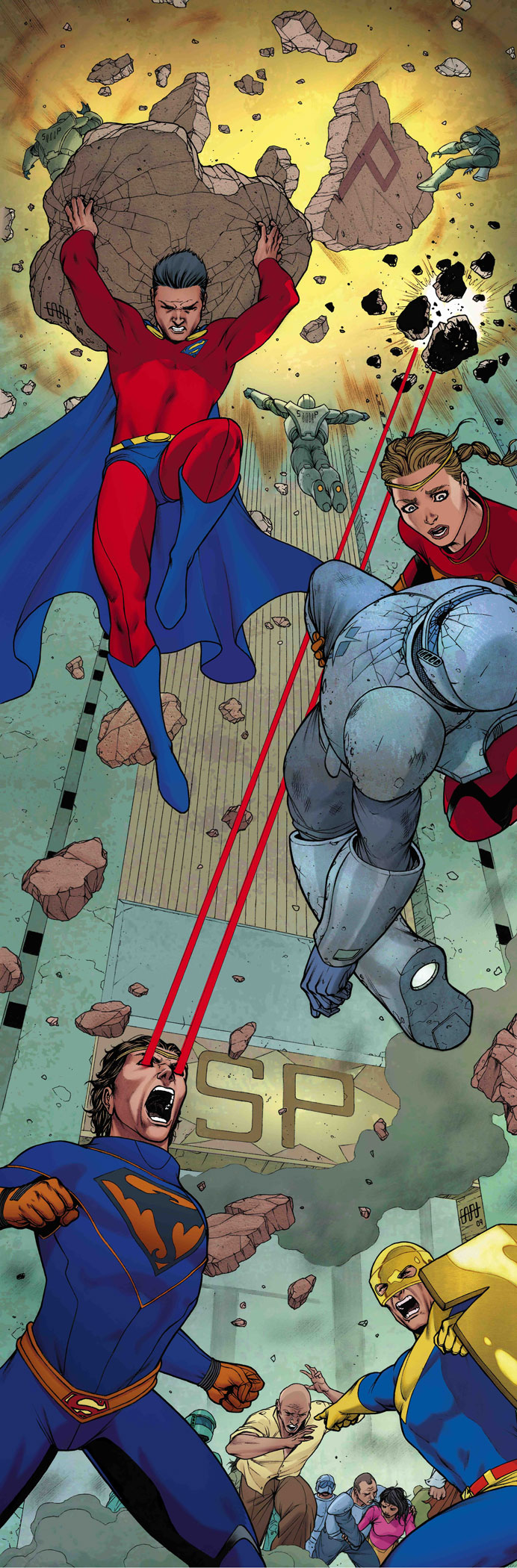 ACTION COMICS #885, SUPERMAN #696