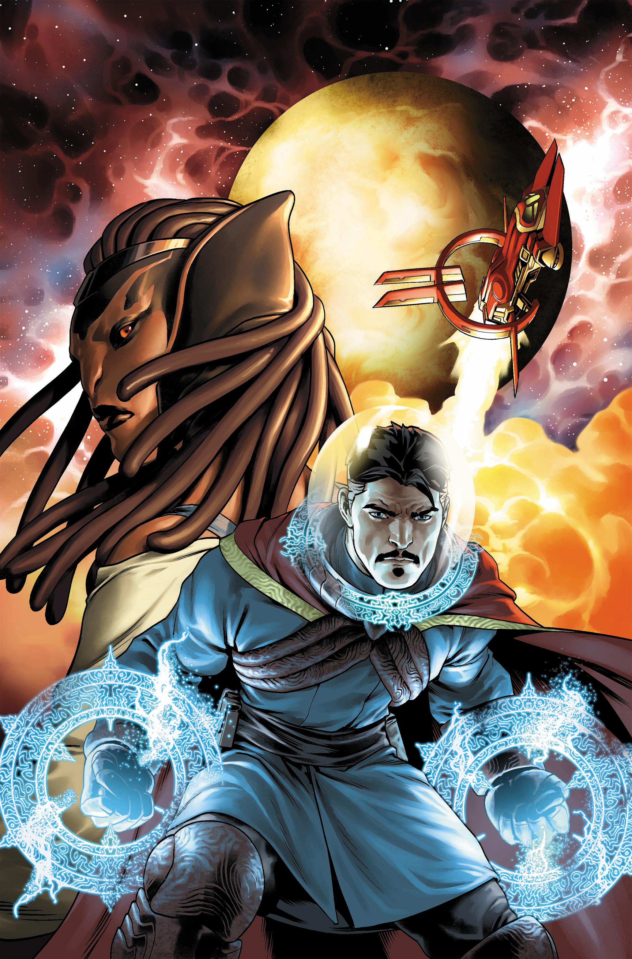 Dr. Strange #1, cover