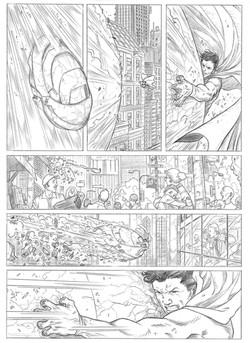 Superman sample page 3