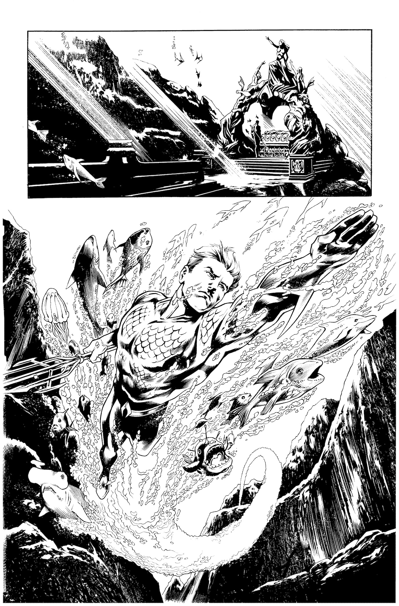 Secret Origins #2: Aquaman, page 12