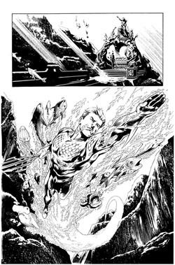 Secret Origins #2: Aquaman, page 12
