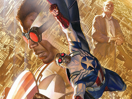 On Sale Today! Captain America Sam Wilson - The Complete Collection Vol 1, with art by Daniel Acuña!